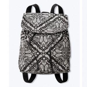 NWT VS PINK Black Paisley Mini Backpack